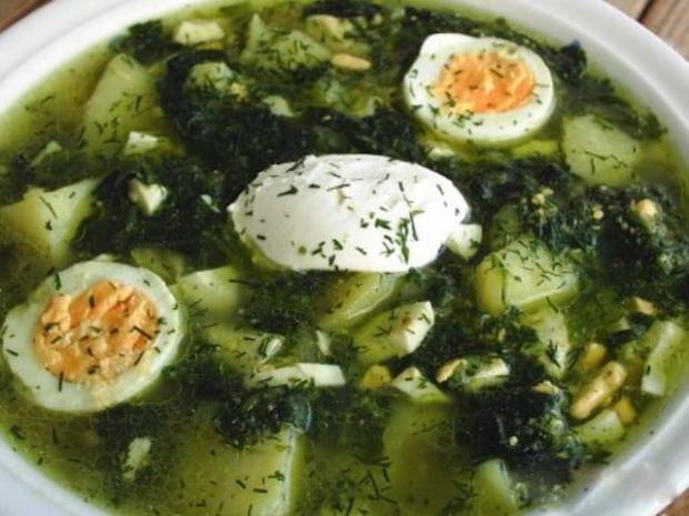 Рецепты со шпинатом